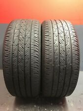 2 Great Used Continental Contiprocontact 255/45R19 255/45/19 2554519 80%life