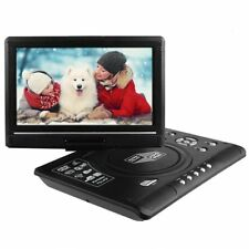 "Portable 9.8"" DVD Player 270° Swivel Screen Free 300 Games SD USB FM Radio TV"