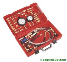 Sealey Tools VSE210 Petrol Fuel Injection Low & High Pressure Test Testing Kit