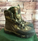 Cabelas Dry Plus Camo Outdoor Hunting Camping Boots Thinsulate Ultra Men's 8.5 M