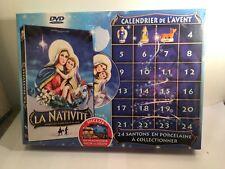 """calendrier de l'avent """"la nativité"""" 24 santons en porcelaine avec DVD"""
