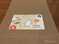 "Starbucks Corporate Gift Cards "" HEALTHCARE 2018"" No Cash Value/ Mint Condition"