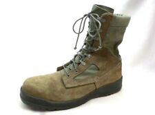 """BELLEVILLE 600 USAF Sage Green Hot Weather 8"""" Steel Toe Combat Boot Men's 10.0 R"""