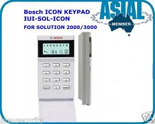 BOSCH ALARM LCD ICON Keypad Code Pad White IUI-SOL-ICON for Solution 2000/3000