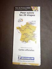 Carte officielle du Tour de France 2004, Michelin