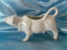 White Porcelain Cow Creamer Pitcher