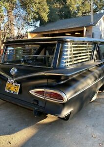 1959, 1960 CHEVY WAGON SIDE BLINDS LEFT AMD RIGHT ONLY *SALE*