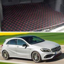 Premium Car Trunk Mat Leather Waterproof Fit for 2013-2017 Mercedes-Benz A-Class
