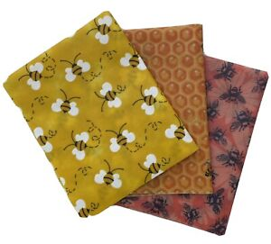 Beeswax Food Wrap Set   3- Pack Reusable Bees Wax Cover Wraps All Natural