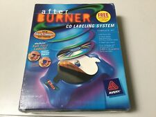 AVERY AFTER BURNER FULL FACE CD/DVD LABELING SYSTEM, COMPLETE KIT, PC/MAC, NEW