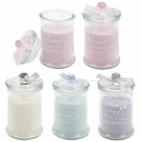 Scented Candle In Glass Jar Pot Wax Fragrance Light Christmas Gift Festive Home