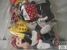 Minnie Mouse mini beanbag doll, Disney; Applause NEW One Doll from a sealed bag
