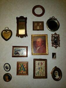 Vintage Dollhouse Miniature Accessories  14 pictures