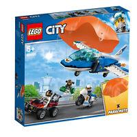 60208 LEGO CITY Sky Police Parachute Arrest 218 Pieces Age 5+