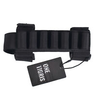 OneTigris 7Round Tactical Shotgun Stock Shell Holder Carrier Hunting Pouch Strip