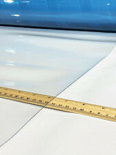 """Clear Vinyl 30 Gauge Isinglass Double Polished Marine Boat By The Foot 54"""" Wide"""