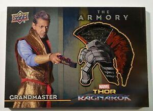 Marvel Thor Ragnarok Memorabilia Wardrobe Costume Card Grandmaster Jeff Goldblum