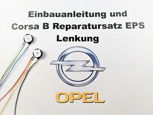 Opel Corsa B Servolenkung EPS Reparatursatz Lenkung Servo Sensor Reparatur