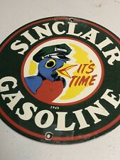 New ListingVintage Porcelain Sinclair Gasoline Gas And Oil Sign