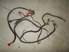 1992 Polaris 350L 4X4 Wire Wiring Harness Connections Connectors