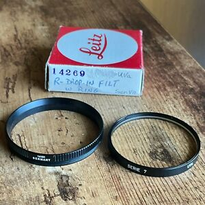 Leica Leitz Series VII UV Filter with Ring and Box - EXCELLENT, US COLLECTOR