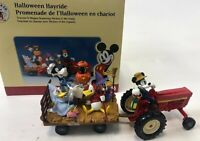 Vintage ERTL DISNEY Mickey & Co Donald Goofy Halloween Hayride Figurine READ