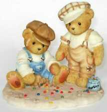 Cherished Teddies Canadian Exclusive, Vince Connor, Marbles, Game, 789801, Nib