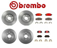 For Acura MDX 03-06 Brembo Front & Rear Set Disc Brake Rotors & Disc Brake Pads