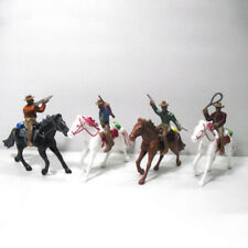 Cowboy And Horse Model Statue Figure Western Indian American Style Toy Xmas Gift