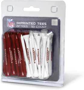 "Team Golf Nfl 2-3/4"" Golf Tees, 50 Pack, Regulation Size, Multi Team Colors"