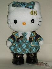 Hello Kitty x AKB48 Team B Costume plush doll Kawaii Cute Sanrio 2011 Rare NWT