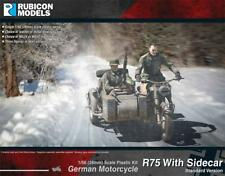 Rubicon Models German Motorcycle R75 w Sidecar (European Theater) Bolt Action