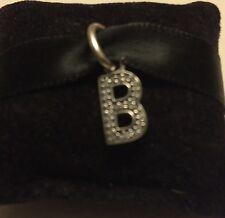 Genuine Pandora 1/2 PRICE SALE Letter B Dangle Charm With Pandora Gift Pouch