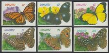 VANUATU 1998 BUTTERFLIES MINT SET (x6) SELF ADHESIVES MNH (ID:245/D58676)