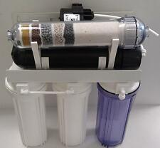 6 Stage pH Mineral - Reverse Osmosis Water System w/ Permeate Pump 1000: 75 GPD