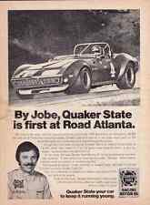 1968-1969-1970-1971-1972 CHEVROLET CORVETTE / 1974 BILL JOBE  ~  ORIGINAL AD