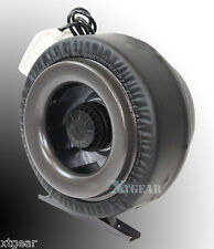 """10"""" Inline 760CFM 110V Duct Fan Vent Exhaust Air Cooled Hydroponic Fan Blower"""