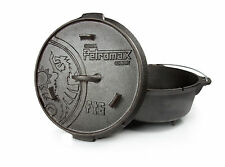Petromax Feuertopf NEU Dutch Oven 2,5 bis 15 L  zur Auswahl für bis zu 20 Pers.