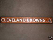 CLEVELAND BROWNS Primitive (Rustic) Wood Sign