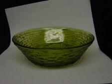 """Anchor Hocking *** Avocado Green *** SORENO *** 6"""" Bowl"""