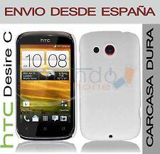 CARCASA FUNDA DURA BLANCA HTC DESIRE C EN ESPAÑA