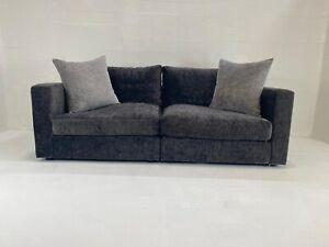 RAFT Loft  Modular Sofa with Footstool Upholstered in Grey Fabric
