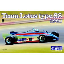 EBBRO Team Lotus Type 88 1981 Essex 1:20 Car Model Kit 20011 Tamiya E011