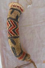 Iatmul tribe Sepik Papua New Guinea decorative koteka penis gourd cover sheath
