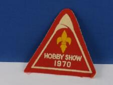 BOY SCOUTS HOBBY SHOW 1970 PATCH VINTAGE COLLECTOR UNIFORM BADGE