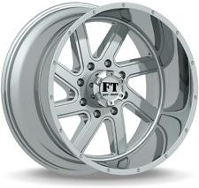 4 ~ 20x12 Full Throttle FT-1 Torque Chrome Wheels 5x150 -44mm fits lifted Tundra