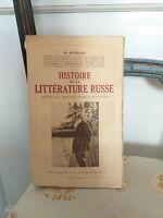 EO : M. Hofmann : Histoire de la Littérature Russe - Payot -1934