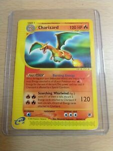 🔥🐉Charizard 40/165 Expedition Pokemon Card Moderately Played MP