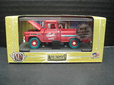 M2 1958 Chevy Apache Truck Super Chase 1 of 108 Blue Tires 1/64 Diecast