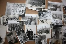 Photographs of the soldiers SEAMEN 1971 Lot of 45 Vintage Black White
